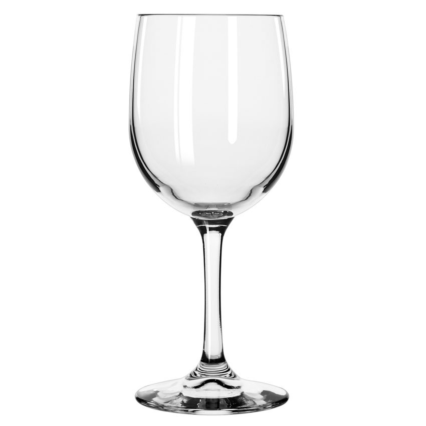Libbey 8564SR 8.5-oz Bristol Valley White Wine Glass - Sheer Rim