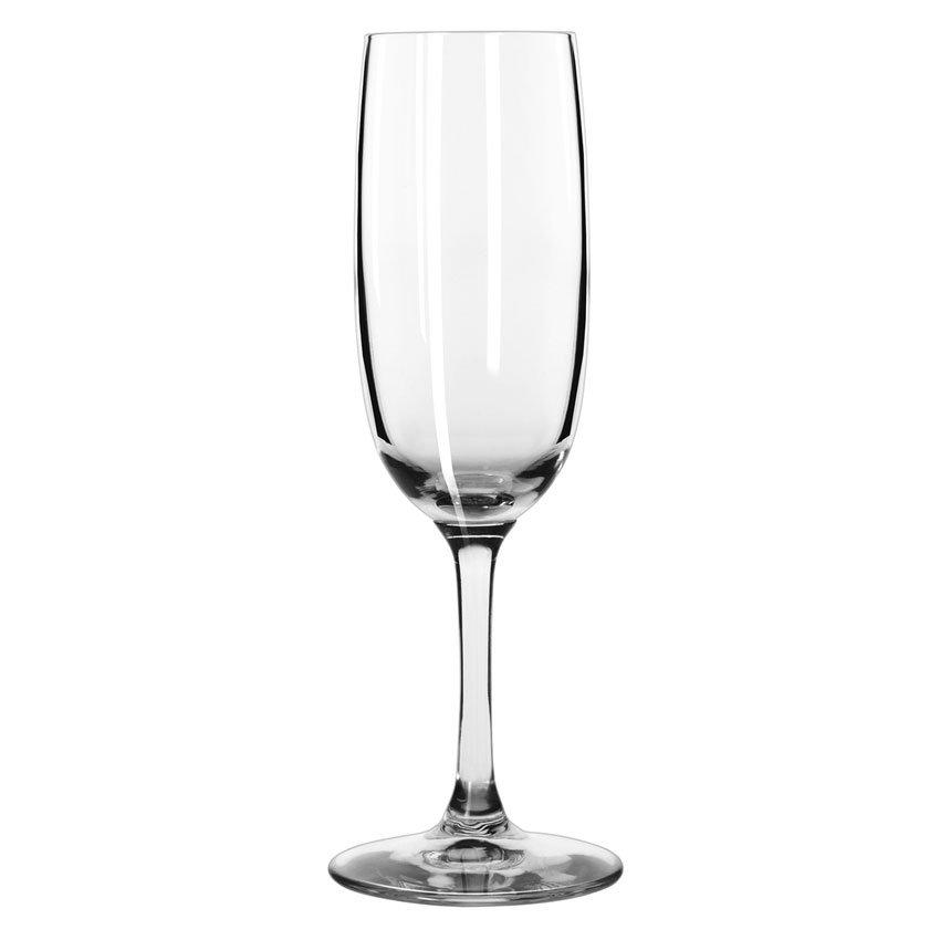 Libbey 8595SR 6-oz Bristol Valley Flute Glass - Sheer Rim