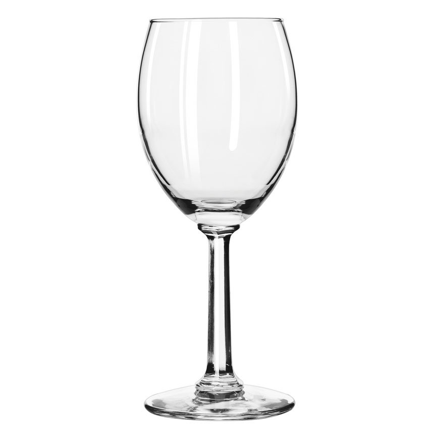 Libbey 8764 7.75-oz Napa Country White Wine Glass - Safedge Rim Guarantee