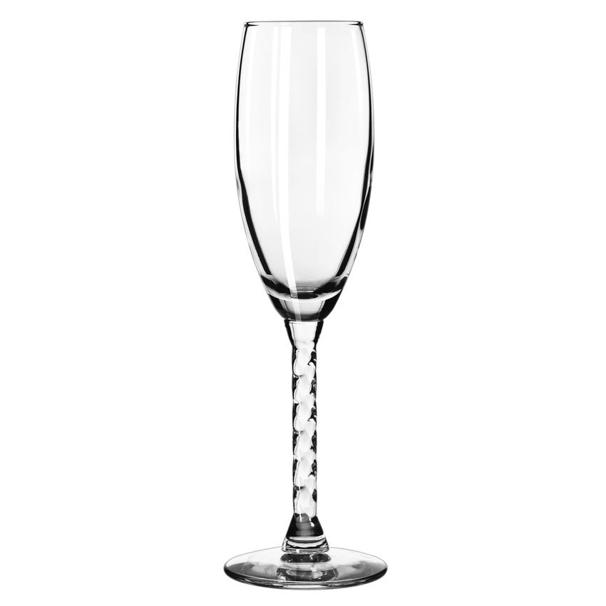 Libbey 8895 5.75-oz Revolution Flute Glass - Safedge Rim Guarantee