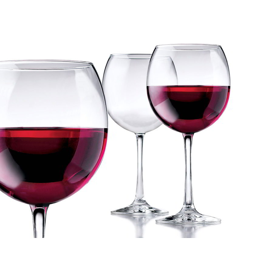 Libbey Glass 89389 Vina Red Wine Set w/ 6-Stemmed Glasses