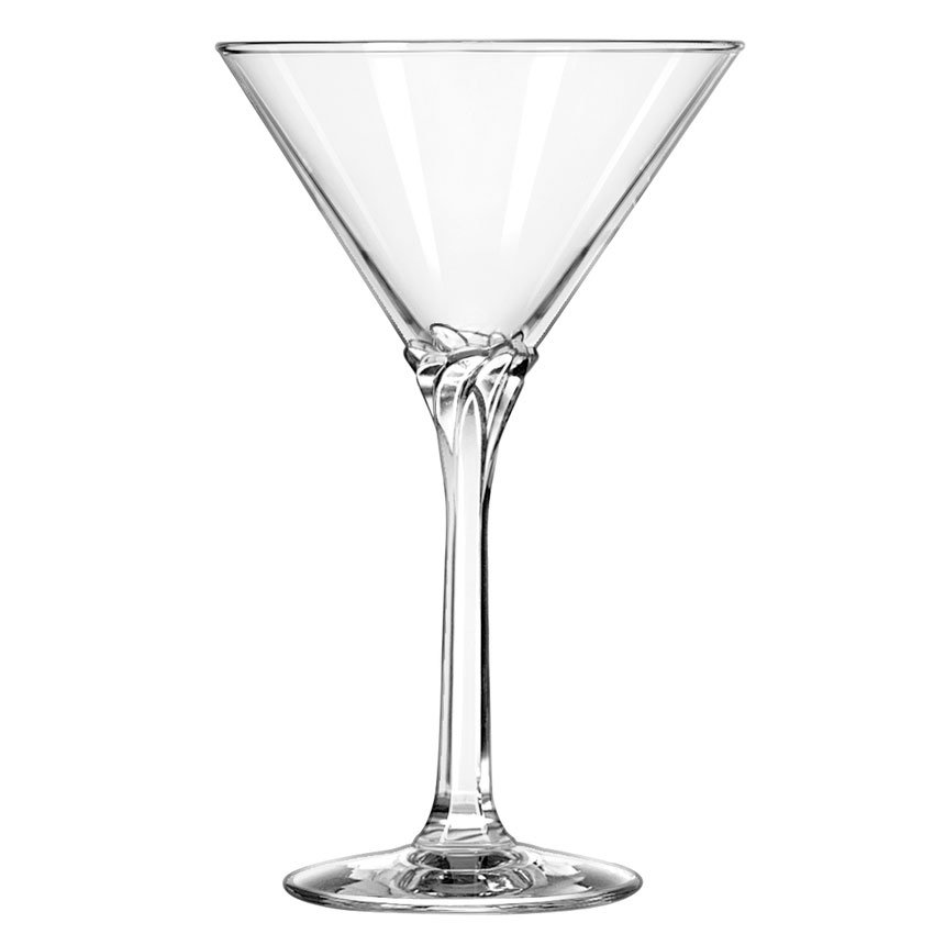 Libbey 8978 8-oz Domaine Martini Glass - Safedge Rim Guarantee