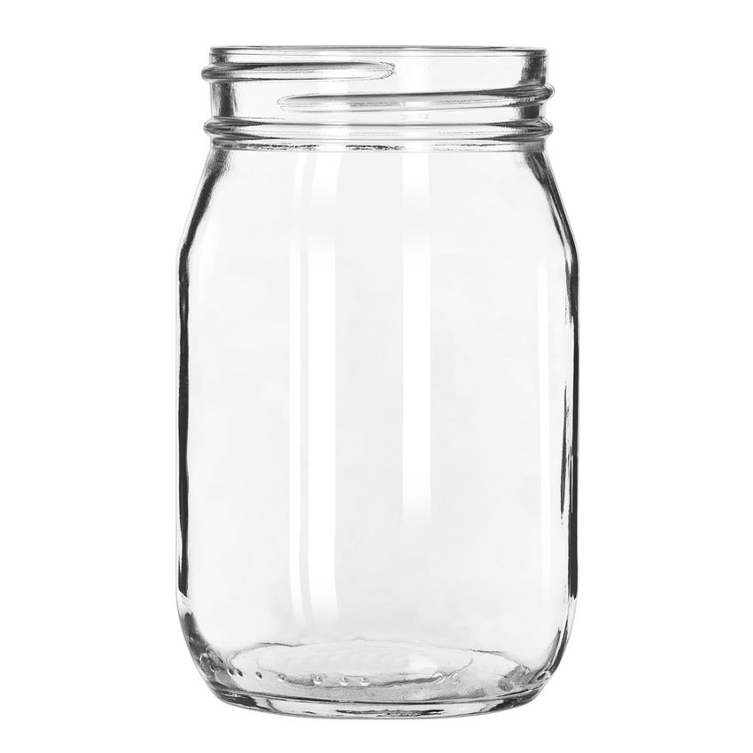 Libbey 92103 16-oz Drinking Jar