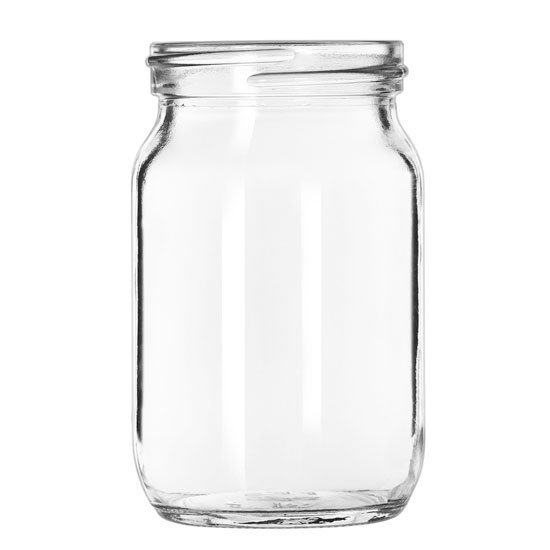 Libbey Glass 92144 4-oz Drinking Jar