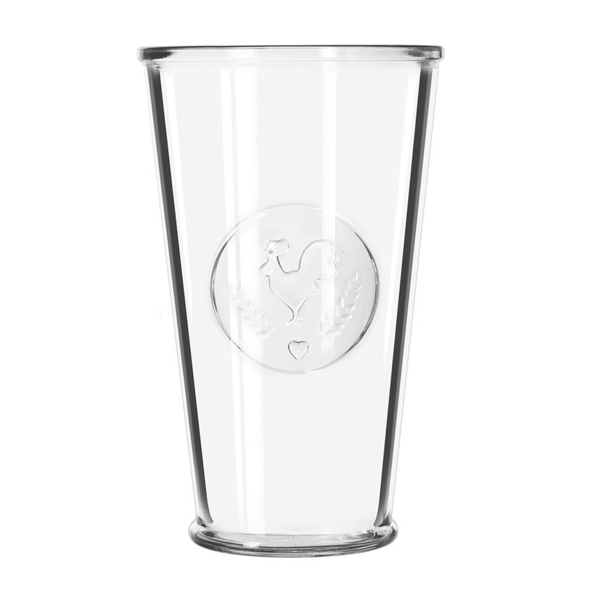 Libbey 92185 20-oz FarmHouse Cooler Glassware, Rooster Design