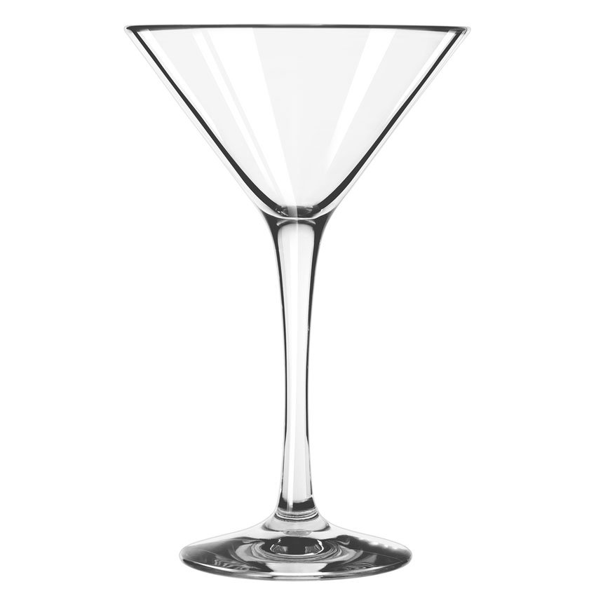 Libbey 92412 8-oz Infinium Martini Glass, Tritan