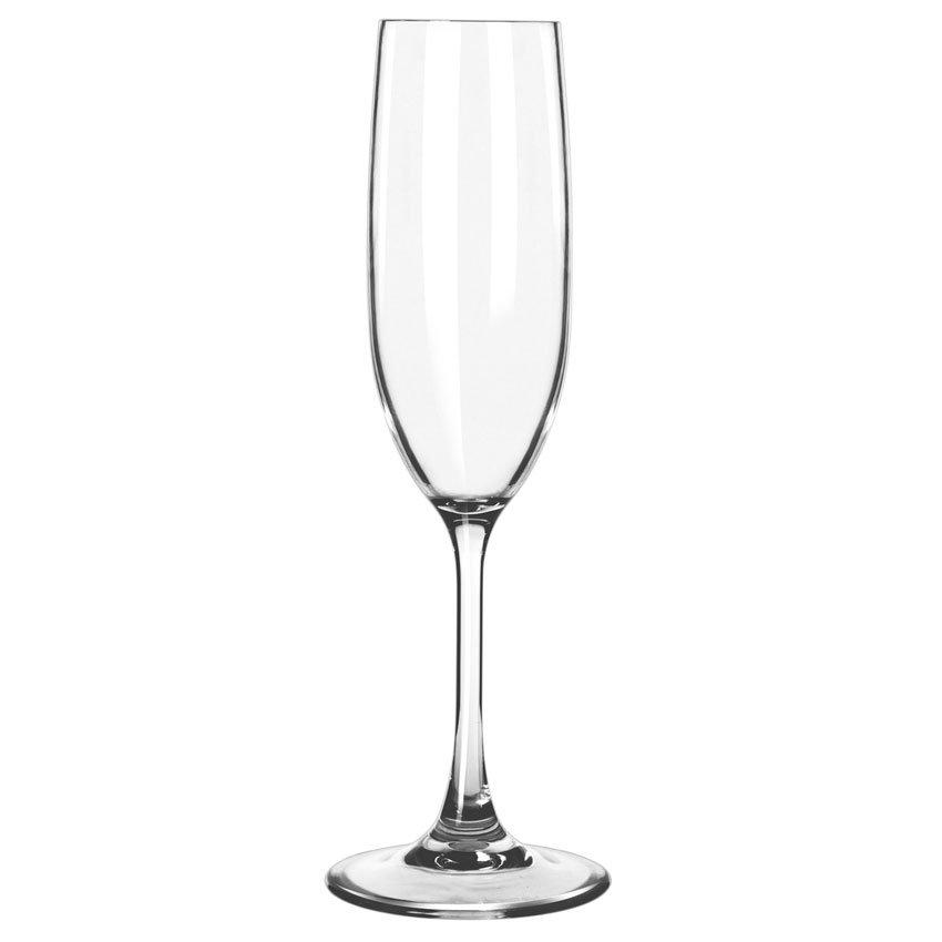 Libbey 92415 6.5-oz Infinium Flute Glass, Plastic