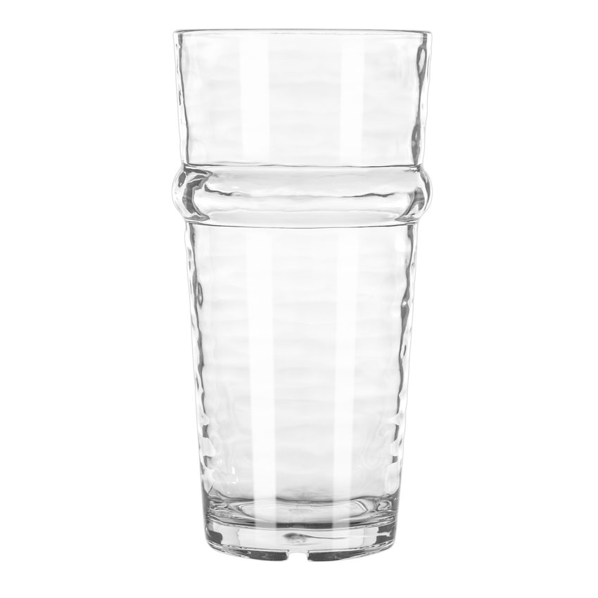 Libbey 92431 12-oz Beverage Glass, Wake™, Clear Plastic