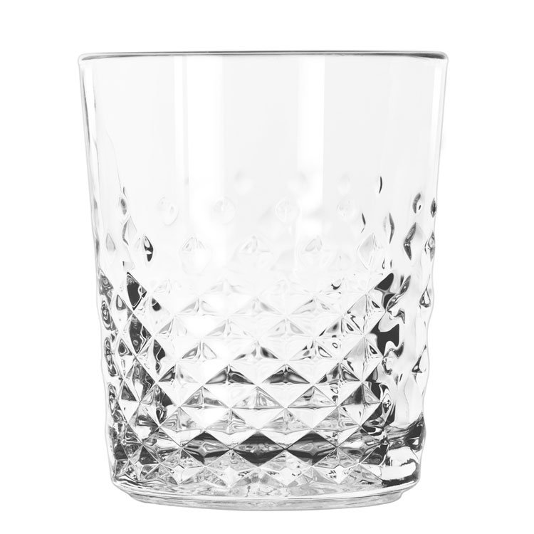 Libbey 925500 12-oz Carats Old Fashioned Double Rocks Glass