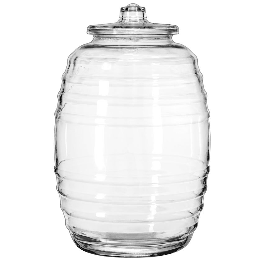 """Libbey 9520004 18.5"""" Barrel Canister"""