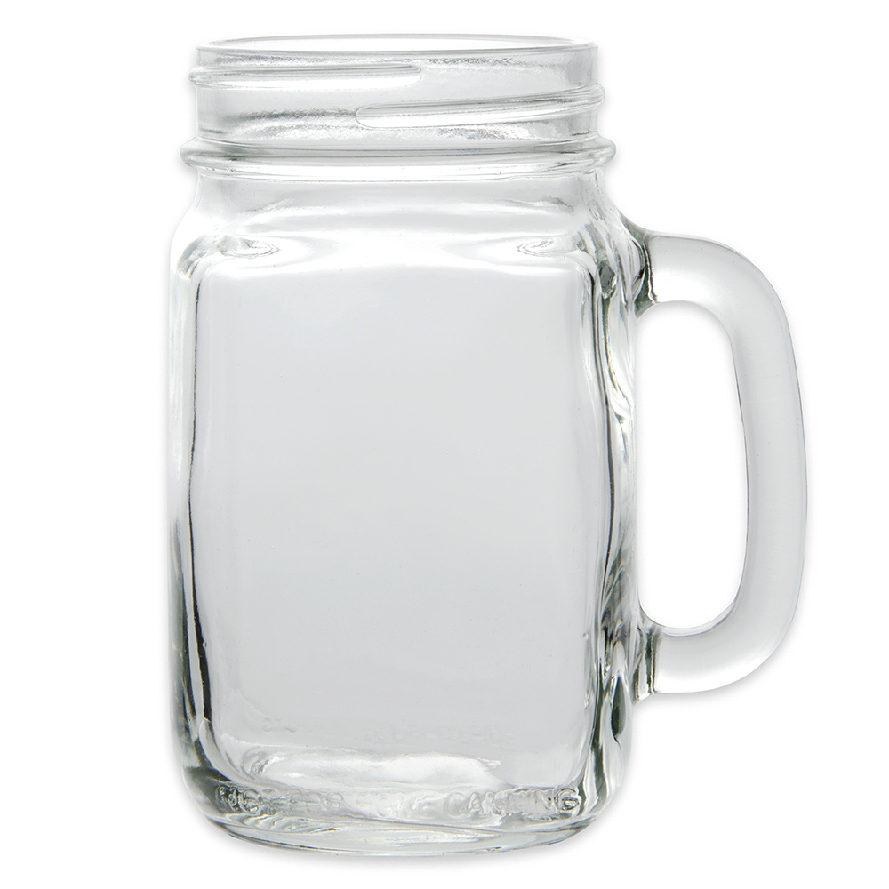 Libbey 97084 16.5-oz County Fair Plain Panel Drinking Jar