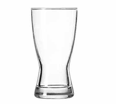 Libbey Glass 1176HT 9-oz Hourglass Design Pilsner Glass - Safedge Rim