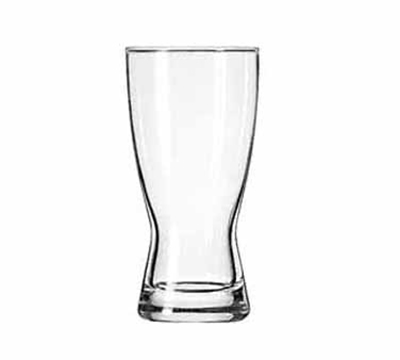 Libbey Glass 1178HT 10-oz Hourglass Design Pilsner Glass - Safedge Rim