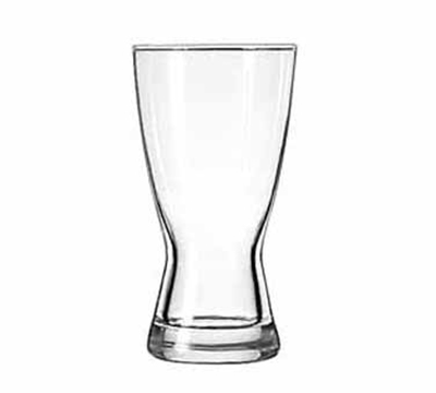 Libbey Glass 1181HT 12-oz Hourglass Design Pilsner Glass - Safedge Rim