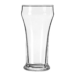 Libbey Glass 12 8-oz Heavy Base Bulge Top Pilsner Glass - Safedge Rim Guarantee