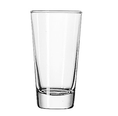 Libbey Glass 131 6.5-oz Diplomat Heavy Base Hi-Ball Glass - Safedge Rim Guarantee