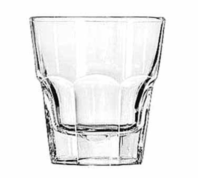 Libbey Glass 15240 8-oz DuraTuff Gibraltar Rocks Glass