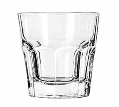 Libbey Glass 15241 7-oz DuraTuff Gibraltar Rocks Glass