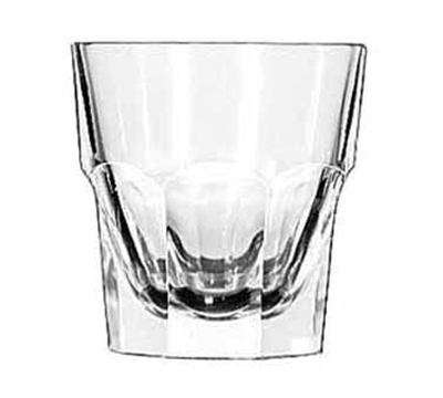 Libbey Glass 15245 7-oz DuraTuff Gibraltar Tall Rocks Glass
