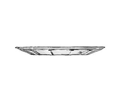 """Libbey 15411 7.5"""" DuraTuff Gibraltar Glass Salad Dessert Plate"""