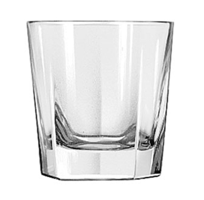 Libbey Glass 15480 7-oz DuraTuff Inverness Rocks Glass