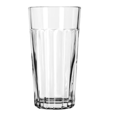 Libbey Glass 15643 20-oz DuraTuff Paneled Glass Tumbler