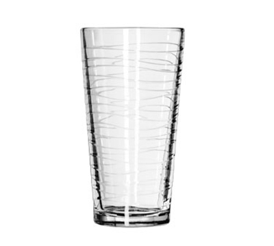Libbey Glass 15646 20-oz DuraTuff Wave Design Casual Cooler Glass