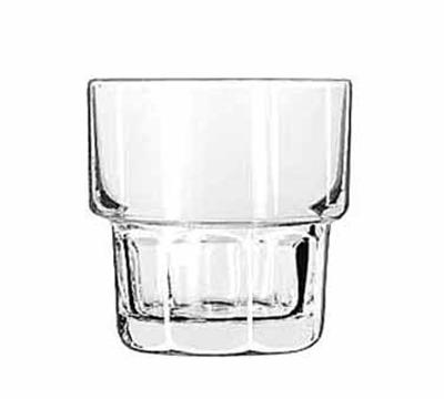 Libbey Glass 15659 9-oz DuraTuff Gibraltar Stackable Rocks Glass