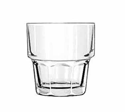 Libbey Glass 15661 7-oz DuraTuff Gibraltar Stackable Rocks Glass