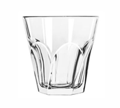 Libbey Glass 15746 12-oz Gibraltar Twist Duratuff Rocks Glass
