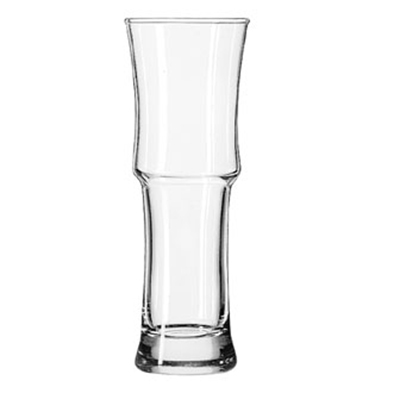 Libbey Glass 1619 15.5-oz Napoli Grande Footed Hurricane Glass - Safedge Rim