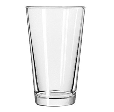 Libbey Glass 1639HT 16-oz DuraTuff Restaurant Basics Mixing Glass