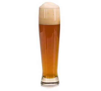 Libbey Glass 1690 16-oz Tall Beer Pilsner - Heavy Sham, Safedge Rim
