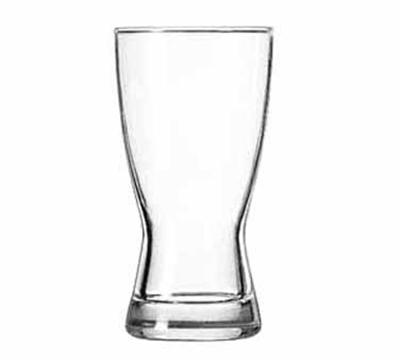 Libbey Glass 176 9-oz Hourglass Design Pilsner Glass - Safedge Rim Guarantee