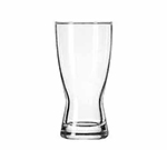 Libbey Glass 178 10-oz Hourglass Design Pilsner Glass - Safedge Rim Guarantee