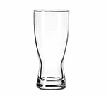 Libbey Glass 179 11-oz Hourglass Design Pilsner Glass - Safedge Rim Guarantee