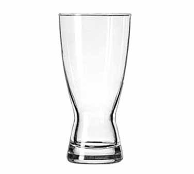 Libbey Glass 183 15-oz Hourglass Design Pilsner Glass - Safedge Rim Guarantee