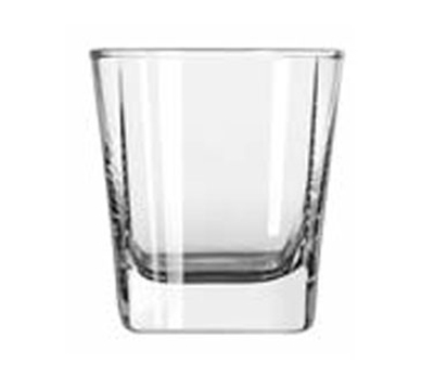 Libbey Glass 2209 6.37-oz Quartet Square Base Old Fashioned Glass