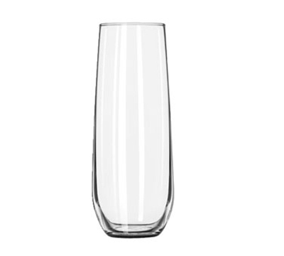 Libbey Glass 228 8.5-oz Stemless Flute Glass