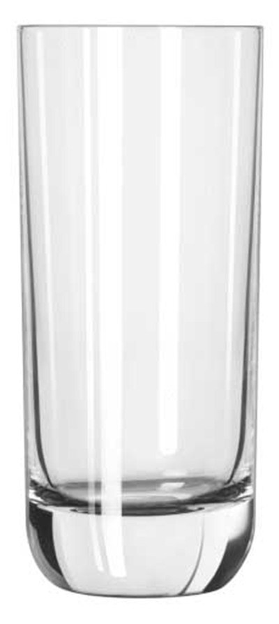 Libbey Glass 2293SR 10-oz Envy Heavy Sham Hi-Ball Glass - Sheer Rim