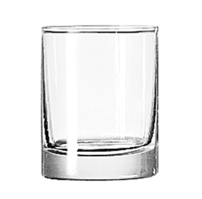 Libbey Glass 2303 3-oz Lexington Whiskey Shot Glass Jigger - Safedge Rim