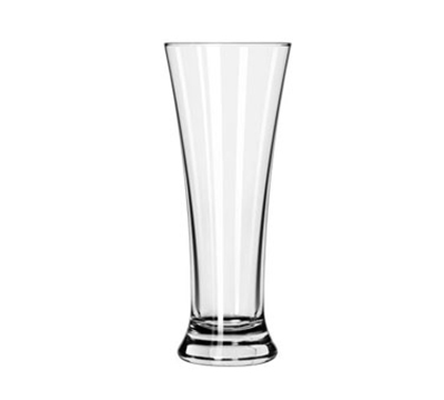 Libbey Glass 247/69292 17-oz Fizzazz Flared Pilsner Glass - Nucleation Etching