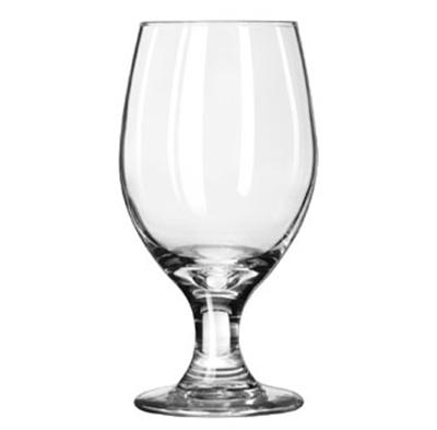 Libbey 3010 14-oz Perception One-Piece Banquet Goblet - Safedge Rim & Foot