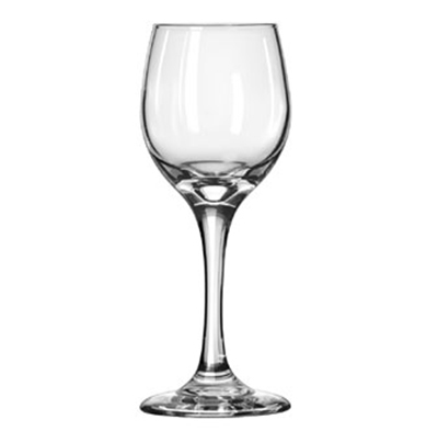 Libbey Glass 3058 6.5-oz Perception White Wine Glass - Safedge Rim & Foot