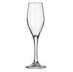Libbey Glass 3096 5.75-oz Perception One-Piece Flute Glass - Safedge Rim & Foot