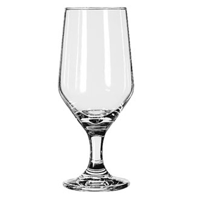 Libbey Glass 3328 12-oz Estate Beer Glass - Safedge Rim & Foot Guarantee