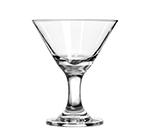 Libbey Glass 3701 3-oz Embassy Mini Martini Glass Dessert - Safedge Rim & Foot