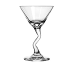Libbey Glass 37339 7.5-oz Embassy Z-Stem Martini Glass - Safedge Rim & Foot Guarantee