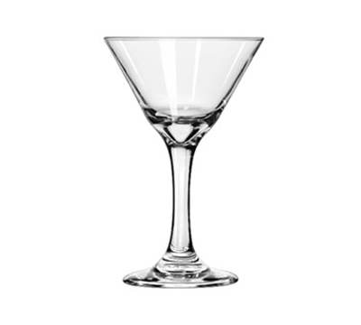 Libbey Glass 3733 7.5-oz Embassy Martini Glass - Safedge Rim & Foot Guarantee