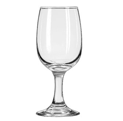 Libbey Glass 3765 8.5-oz Embassy Wine Glass - Safedge Rim & Foot
